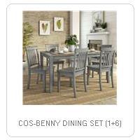 COS-BENNY DINING SET (1+6)